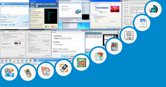 Software collection for Booth Movie Video 3gp