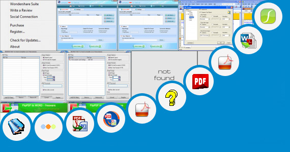 Software collection for Pdf 100 Opposing Words