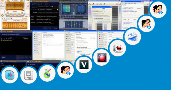 Software collection for Lovers Kannada Phone Recording Voice