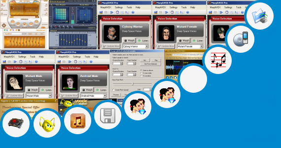 Software collection for Dj Sonu Name Voice Maker