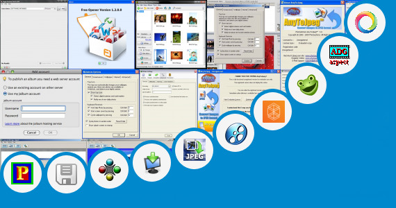 Software collection for Java Photo Editer 240 400