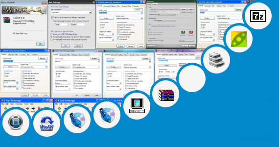 Software collection for Windows 95 Iso File High Compressed