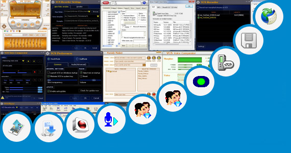 Software collection for Sangita Voice Computer Software