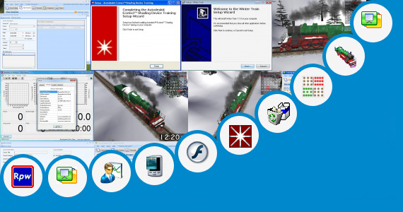 Software collection for Train Thems For Window 7