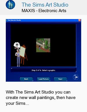 The Sims Art Studio