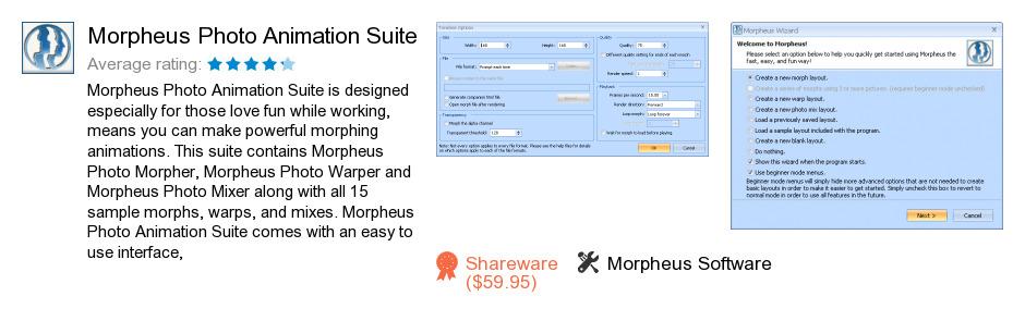 Morpheus Photo Animation Suite