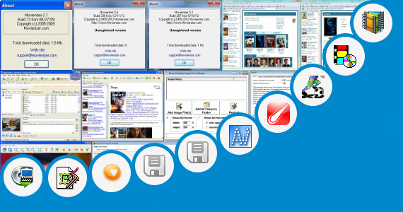 Software collection for Film Shot Division Software