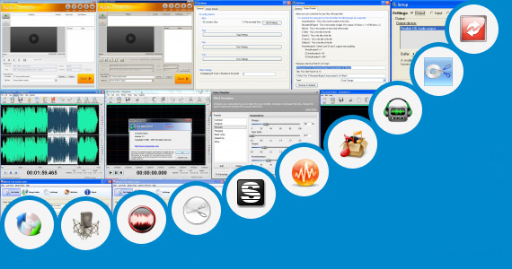 Software collection for M G R Audio Cut Song