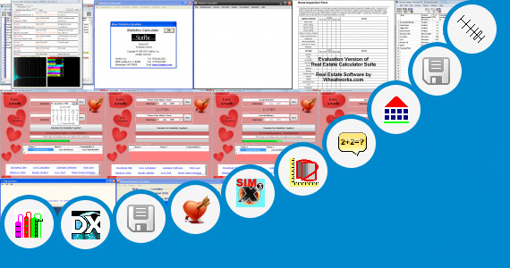 Software collection for Peb Design Calculations