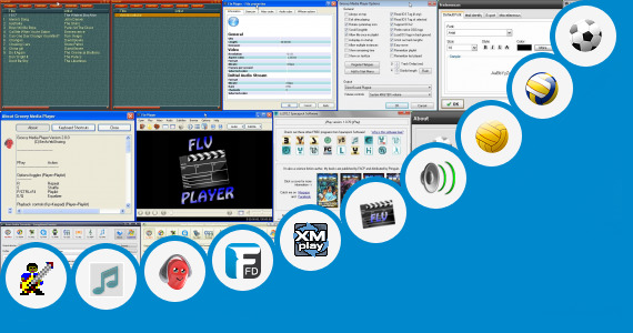 Software collection for Play M3u On Playbook