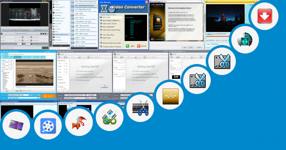 Software collection for Kuttyweb Cut Videos