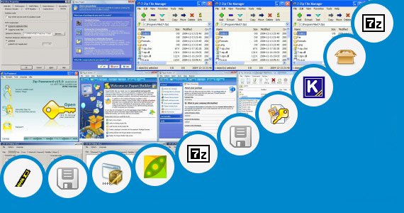 Software collection for Encarta Zip High Compressed