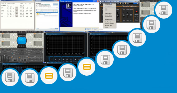 Software collection for Highly Compresed Vst