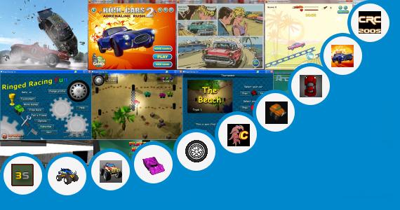 Software collection for Car Race Java Vxp Game Vxp