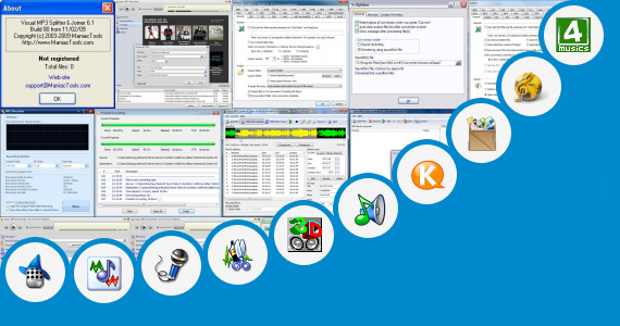 Software collection for Dj Voice Tag Mp3 Jar App