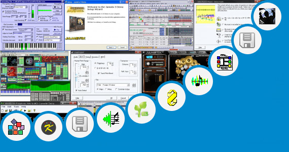 Software collection for Midi Sequencer Software