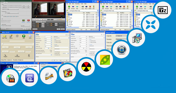Software collection for Highly Compressed Rom Packs