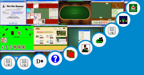 Software collection for Rummy Game In Jar