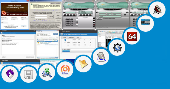Software collection for Editing Firmware Of Receivers