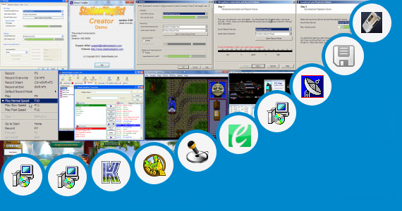 Software collection for Railway Station Voice Software