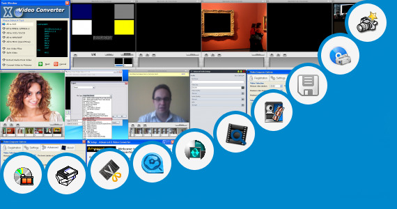 Software collection for Sixe Video Images