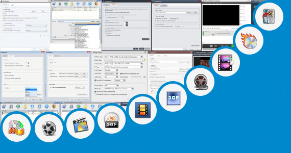 Software collection for 3gp Movie Parts Low Mb