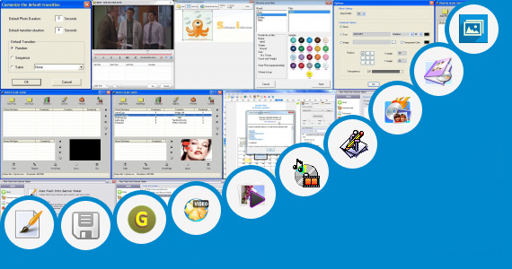 Software collection for Slode Show Maker
