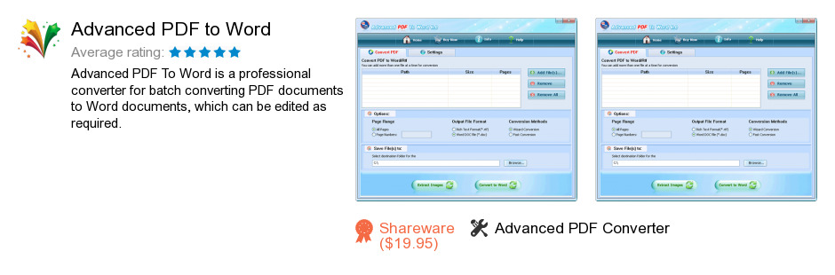 Advanced PDF to Word
