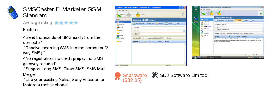 SMSCaster E-Marketer GSM Standard - Free download and ...