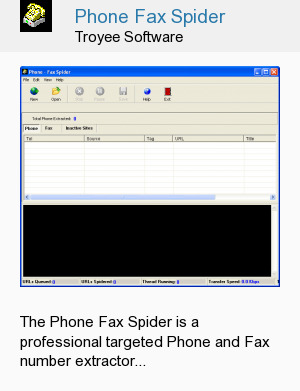 Phone Fax Spider