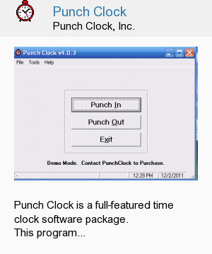 Punch Clock
