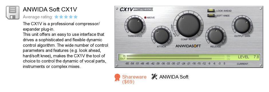 ANWIDA Soft CX1V