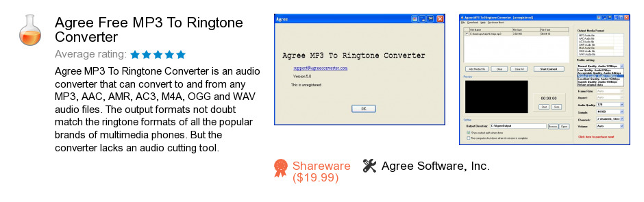 Agree Free MP3 To Ringtone Converter