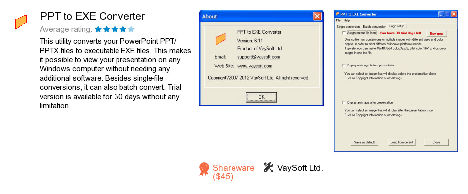 PPT to EXE Converter