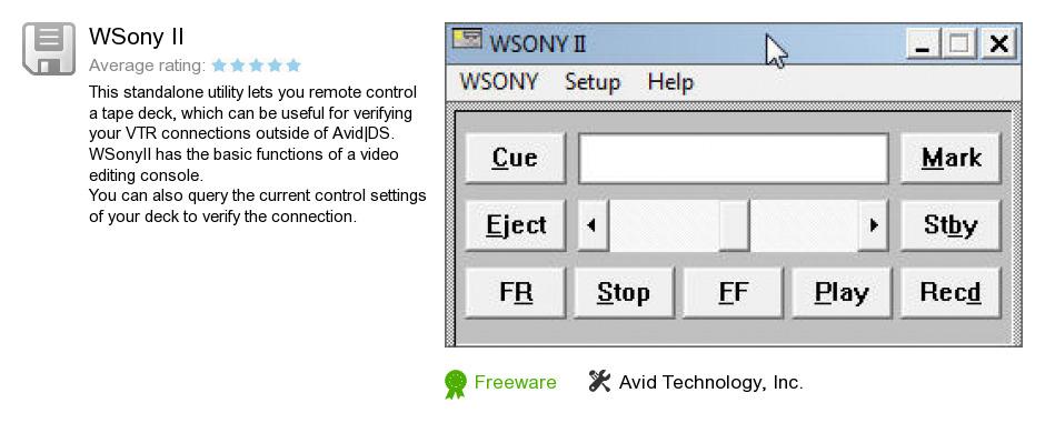 WSony II