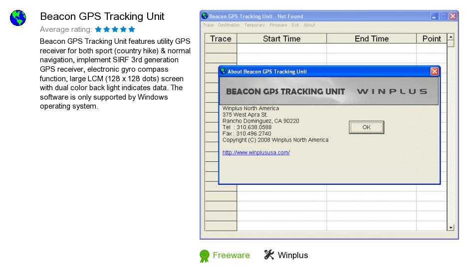 Beacon GPS Tracking Unit