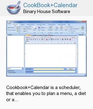 CookBook+Calendar