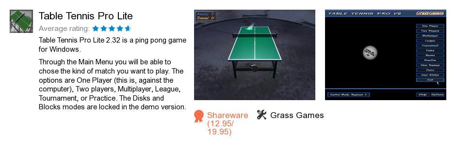Table Tennis Pro Lite