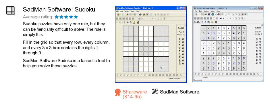 SadMan Software: Sudoku