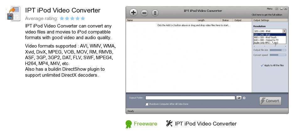 IPT iPod Video Converter
