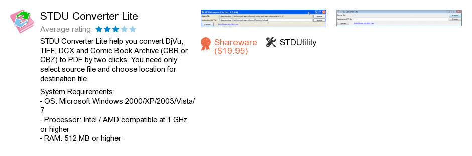 STDU Converter Lite