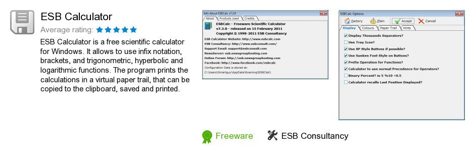ESB Calculator