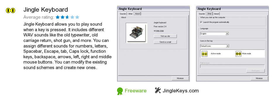 Jingle Keyboard