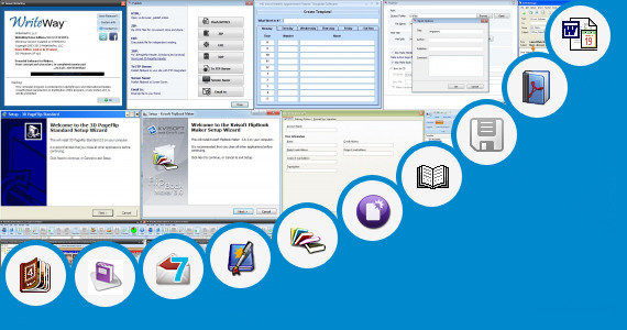Software collection for Bill Book Word Template