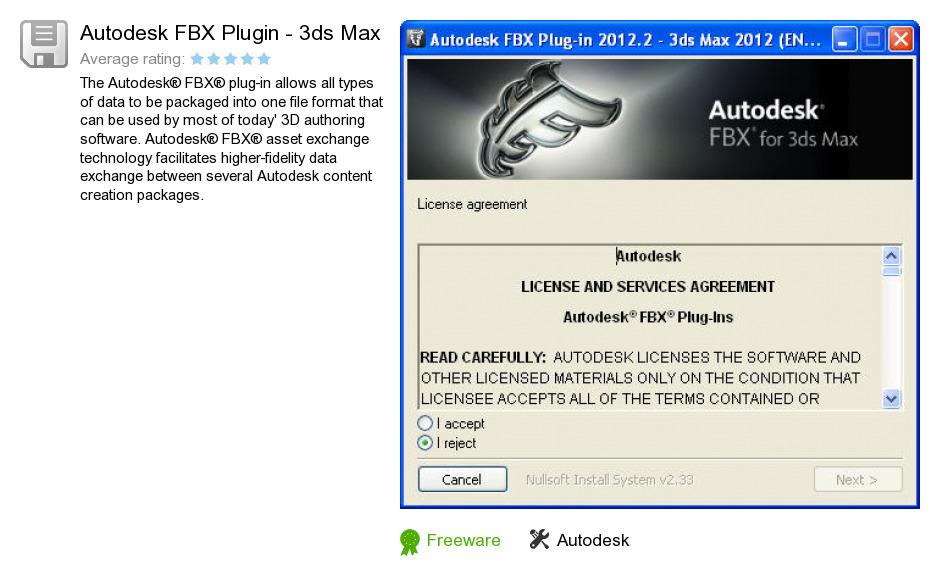 Autodesk FBX Plugin - 3ds Max