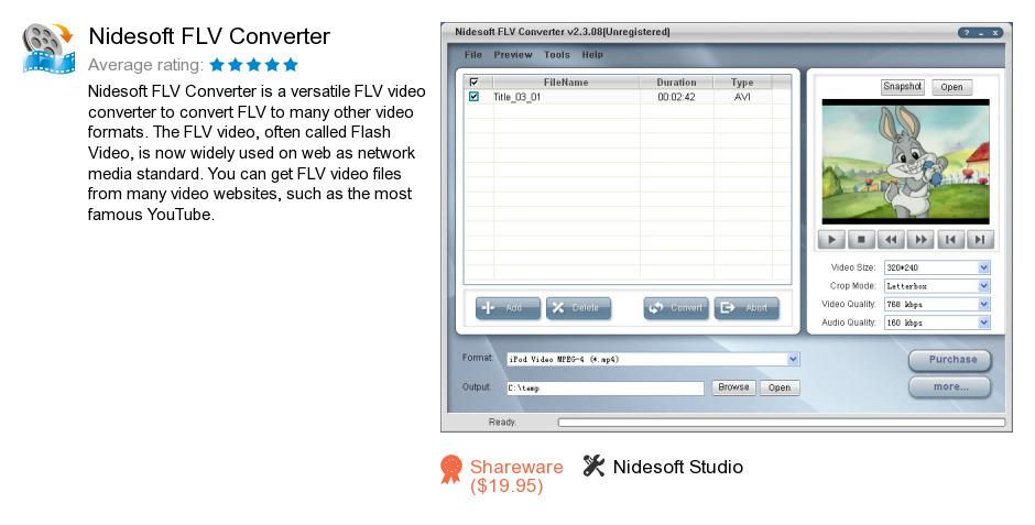 Nidesoft FLV Converter