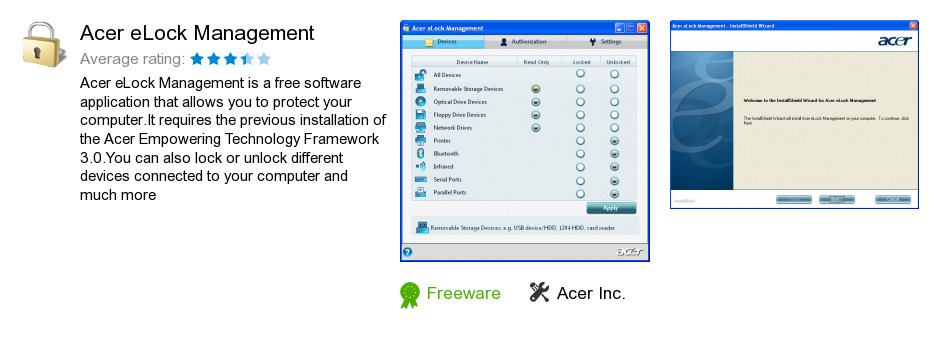 Acer eLock Management