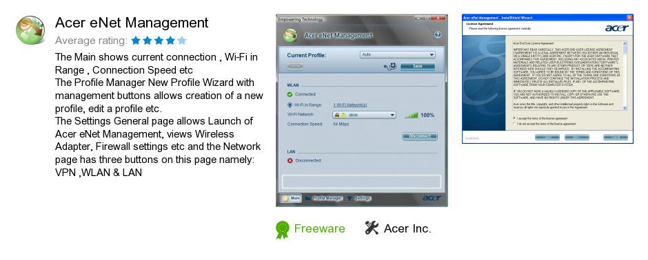 Acer eNet Management