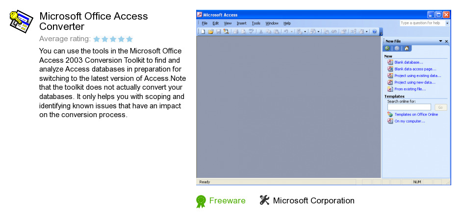 Microsoft Office Access Converter