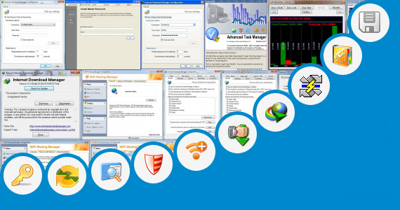 Software collection for Internet  Manager Loader